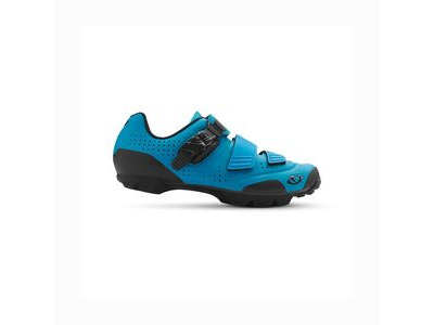 GIRO PRIVATEER R MTB SHOE 42 BLUE JEWEL  click to zoom image