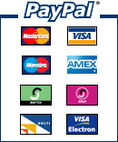 Secure payments via PayPal