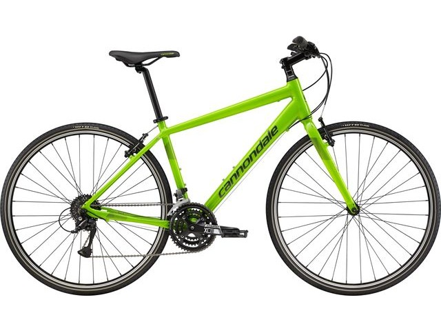 CANNONDALE QUICK 6 HYBRID BIKE 2019 click to zoom image