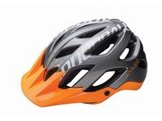 CANNONDALE RYKER ALL MOUNTAIN HELMET L/59-63cm Grey/Ora  click to zoom image