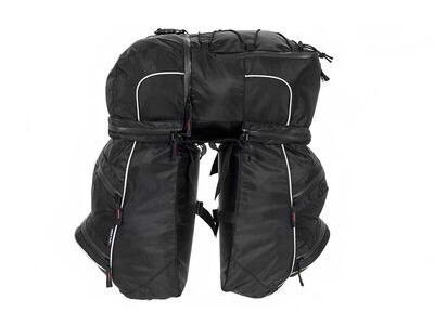 RALEIGH TRIPLE PANNIER BAG SET.