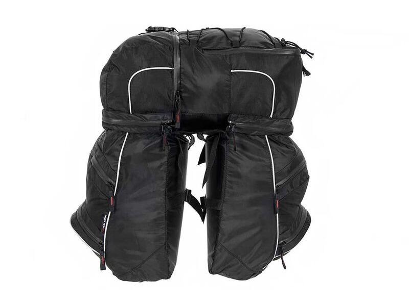 RALEIGH TRIPLE PANNIER BAG SET. click to zoom image