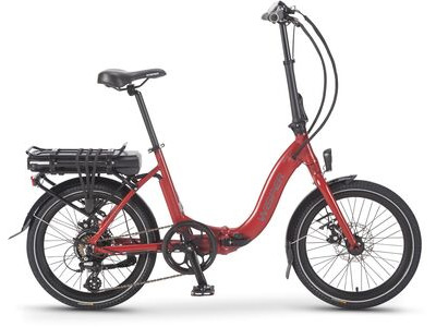 "WISPER 806SE 375w ELECTRIC BIKE 20"" Wheel Red  click to zoom image"