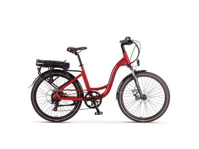 WISPER 705SE 375w e BIKE RED