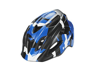 LAZER NUTZ YOUTH CYCLE HELMET  50-55 cm Blue Camo  click to zoom image