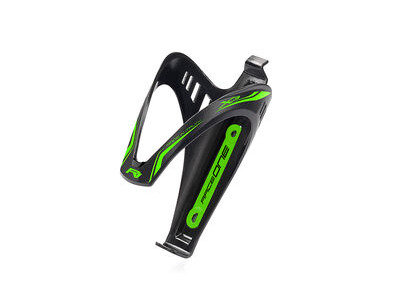Race One X3 BOTTLE CAGE  Black/Green  click to zoom image
