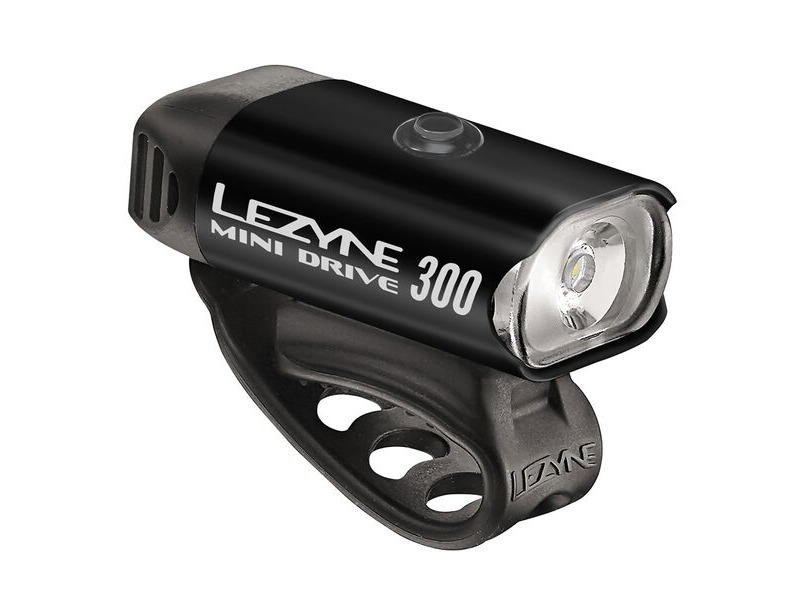 LEZYNE Mini Drive 300 Front Light click to zoom image