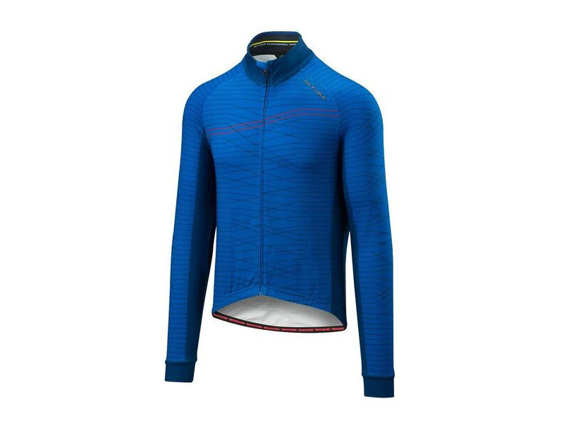 ALTURA Thermo Lines Long Sleeve Jersey : Blue/blue click to zoom image