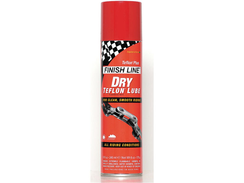 FINISH LINE TEFLON PLUS DRY LUBE click to zoom image