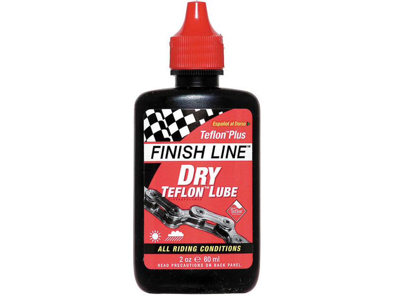 FINISH LINE TEFLON PLUS DRY LUBE 60ml click to zoom image