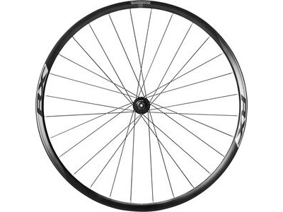 SHIMANO WH-RX010 Disc Road Wheel, Black, Front