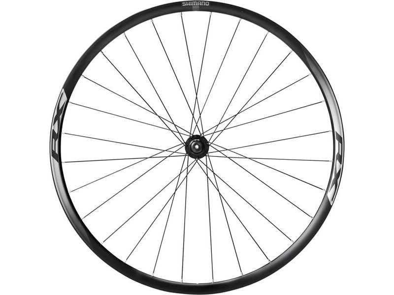 SHIMANO WH-RX010 Disc Road Wheel, Black, Front click to zoom image