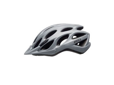 BELL TRACKER CYCLE HELMET 54-61cm MATT SILVER  click to zoom image