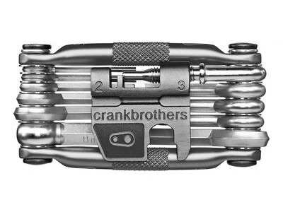 CRANK BROS M17 MULTI TOOL  Nickel  click to zoom image