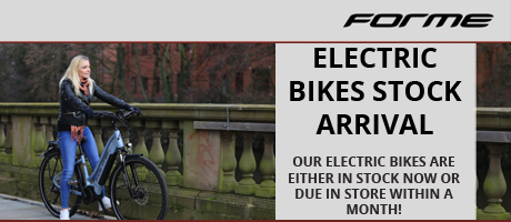 FORME Ebikes in stock